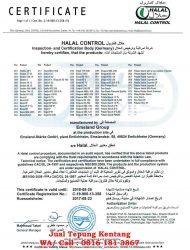 jual tepung kentang_sertifikat halal starch
