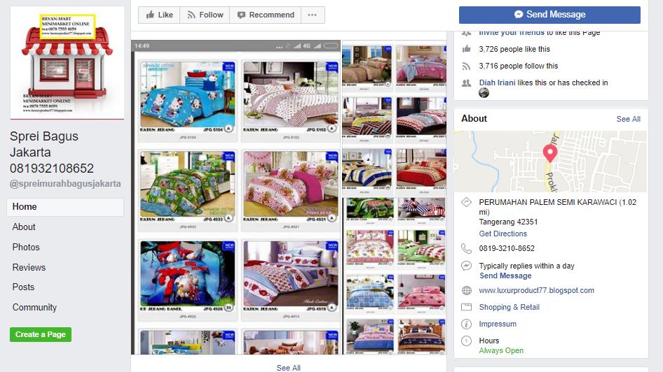 Dengan Toko Online di Facebook Menghasilkan Omzet Ratusan Juta