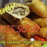 Resep Sosis Solo Untuk Jualan